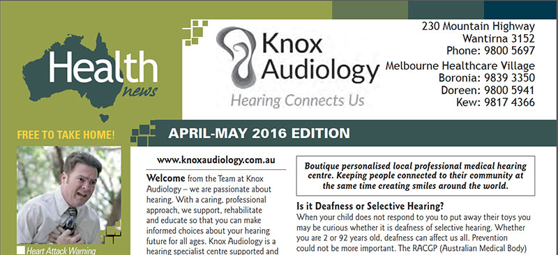 HealthNews April16 Knox Audiology