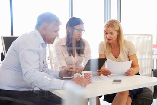 Hearing loss at business meeting