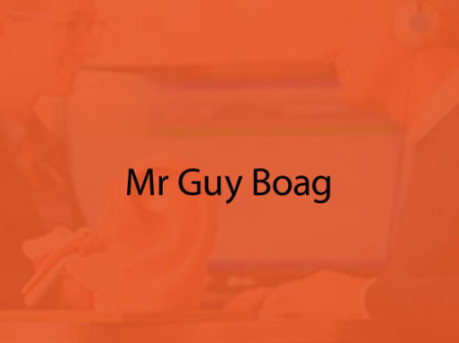 Mr Guy Boag
