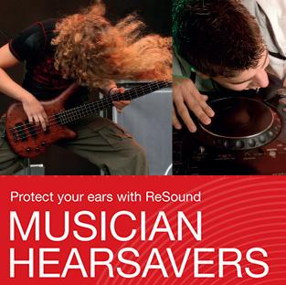 musician hearsavers