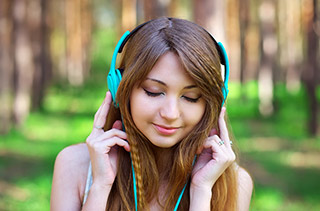 Hearing loss in teenagers due to loud music