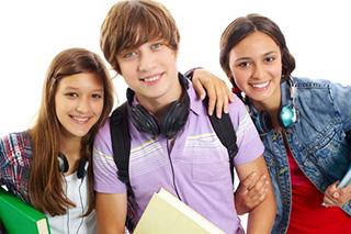 teenagers using 60 60 rule