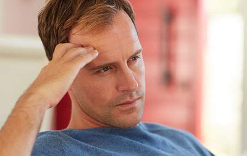 Man with sudden sensorineural hearing loss